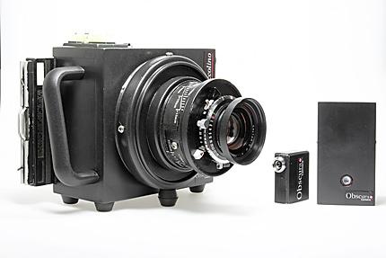 Obscura camera prototypes de 4x5 hyper l g res - Chambre photographique occasion ...
