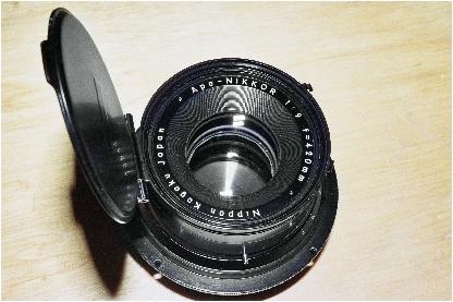 apo-nikkor and process-nikor large format lenses